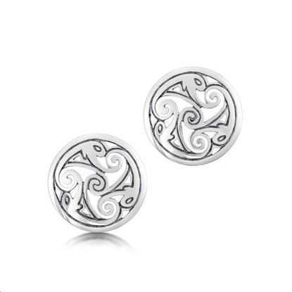Sheila Fleet - E1 Birsay Disc Earrings