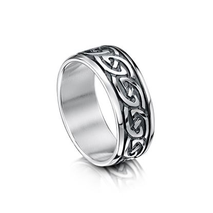 Sheila Fleet - R23 Celtic Ring - Silver