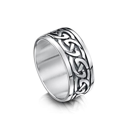 Sheila Fleet - RX23 Celtic Ring - Silver