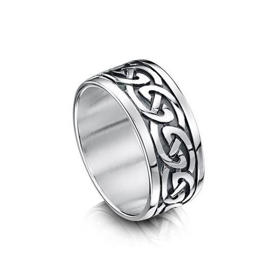 Sheila Fleet - RX23 Celtic Ring - Silver