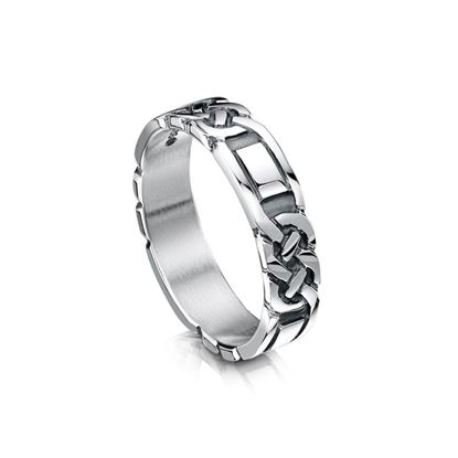 Sheila Fleet - R25 Celtic Ring - Silver