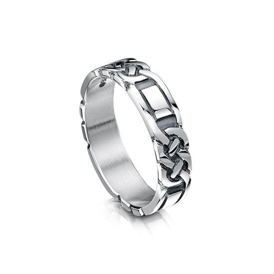 Sheila Fleet - R25 Celtic Ring - Silver