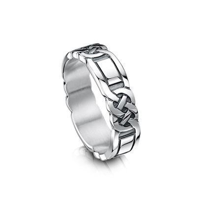 Sheila Fleet - RX25 Celtic Ring - Silver