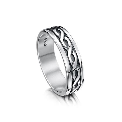 Sheila Fleet - R13 Celtic Ring - Silver
