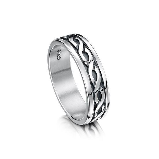 Sheila Fleet - R13 Celtic Ring - Silver