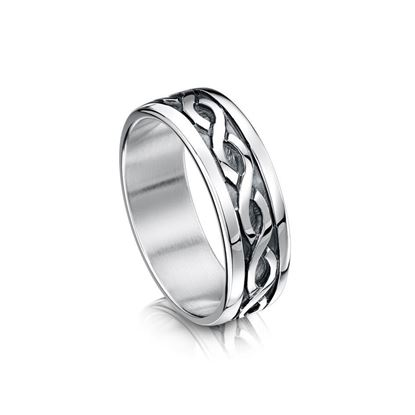Sheila Fleet - RX13 Celtic Ring - Silver