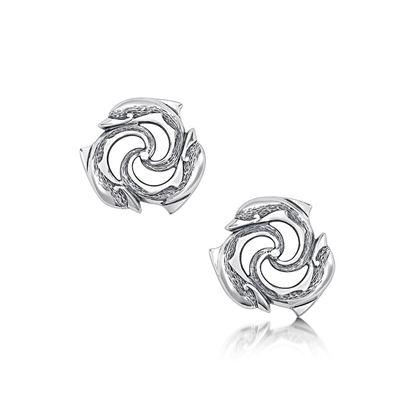 Sheila Fleet - EEX5 Dolphin Earrings