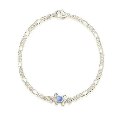 Sheila Fleet - EBL0241 Bluebell Bracelet (colour shown is Bluebell)