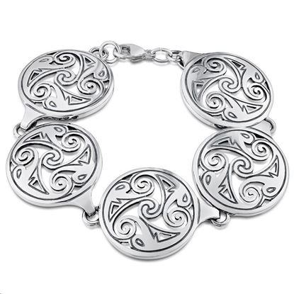 Sheila Fleet - BLX1 Birsay Disc Bracelet