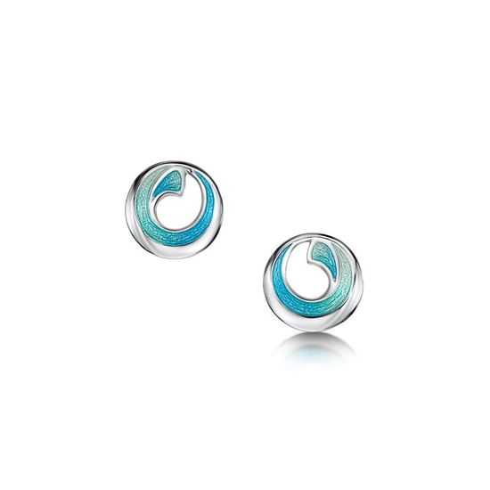 Sheila Fleet - Atlantic Breaker Earrings