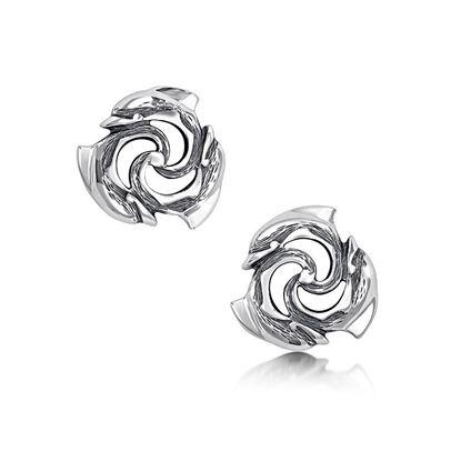 Sheila Fleet - E05 Dolphin Earrings