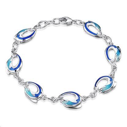 Sheila Fleet - EBL0110 Dolphin Bracelet