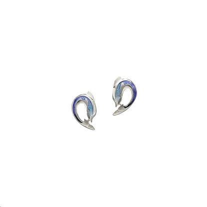 Sheila Fleet - EE0110 Dolphin Earrings