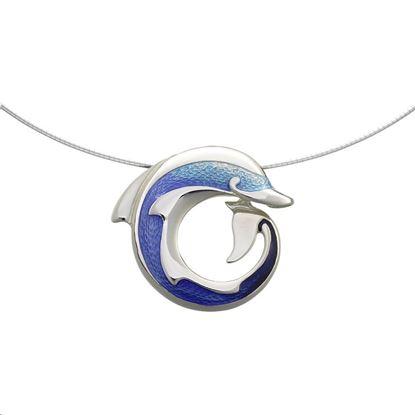 Sheila Fleet - ENX109 Dolphin Necklet