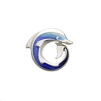 Sheila Fleet - EB109 Dolphin Brooch