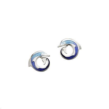 Sheila Fleet - EE109 Dolphin Earrings