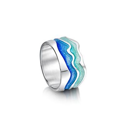 Sheila Fleet - ERX88 River Ripples Ring