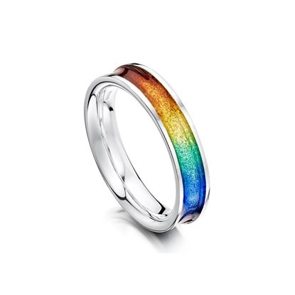 Sheila Fleet - ERX121 Rainbow Ring