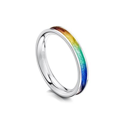 Sheila Fleet - ER121 Rainbow Ring