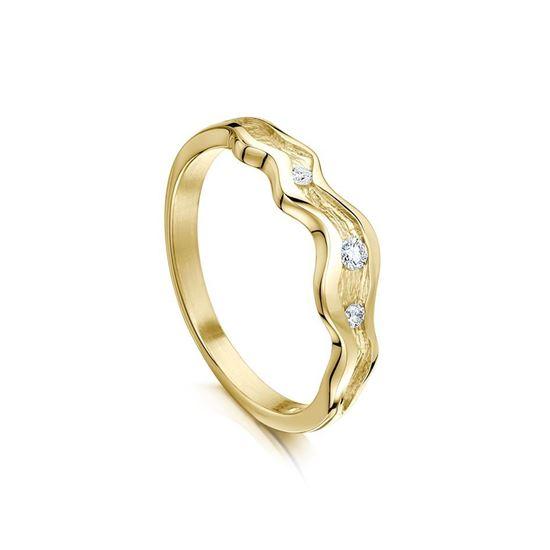 Sheila Fleet - DR87 River Ripples Ring