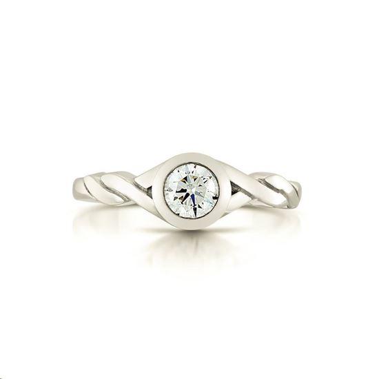 Sheila Fleet - SR199 Celtic Stone Ring