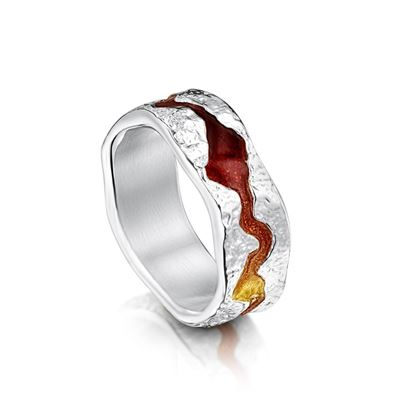 Sheila Fleet - ERX218 Lava Stream Ring