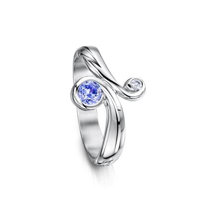 Sheila Fleet - SR245 Swirl Ring