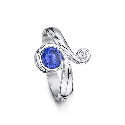 Sheila Fleet - SRX245 Swirl Ring