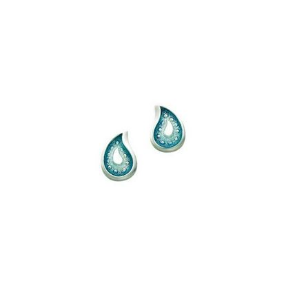 Sheila Fleet - EE000126 Paisley Leaf Earrings