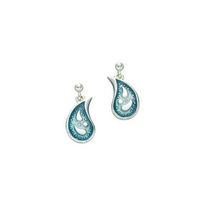 Sheila Fleet - EE0126 Paisley Leaf Earrings