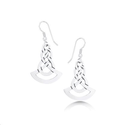 Sheila Fleet - EX25 Lovers Knot Earrings