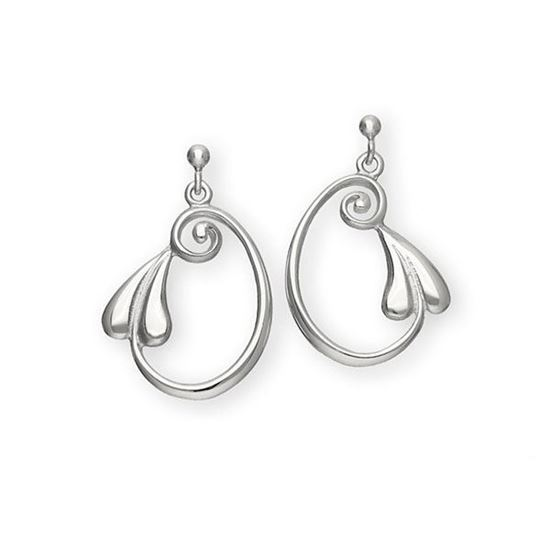 Ortak - E257 Art Nouveau Earrings