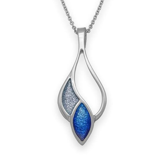 Ortak - EP253 Cedar Pendant (enamel shown in Midnight Sapphire/Arctic)