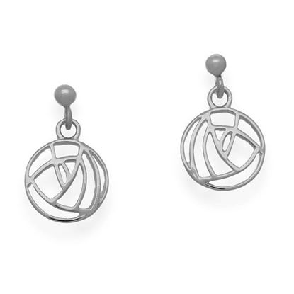 Ortak - E633 Mackintosh Earrings