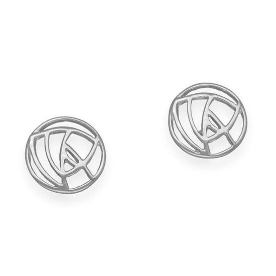 Ortak - E632 Mackintosh Earrings
