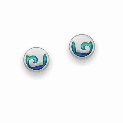 Ortak - EE323 Coastal Earrings (colour shown is Mangrove)