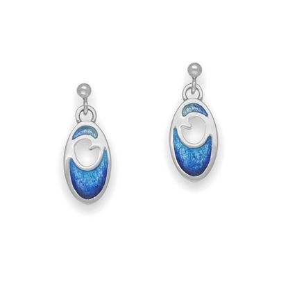 Ortak - EE321 Coastal Earrings (colour shown is Oasis)