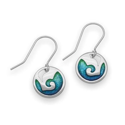 Ortak - EE324 Coastal Earrings (colour shown is Mangrove)