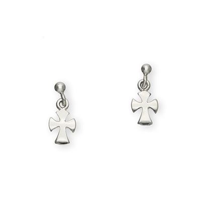 Ortak - E133 Cross Earrings