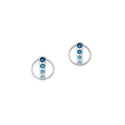Ortak - EE388 Eclipse Earrings (colour shown is Waterfall)