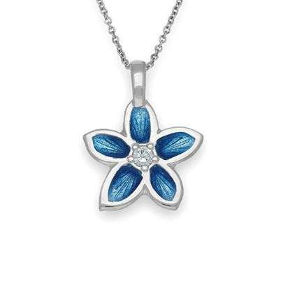 Ortak - ECP15 Happy Valley Pendant (shown with cubic zirconia and Marine enamel)
