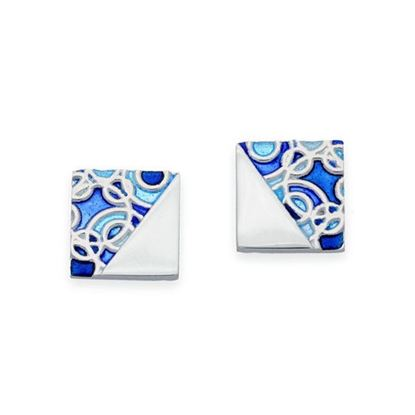 Ortak - EE520 Impressions Earrings (colour shown is Oasis)