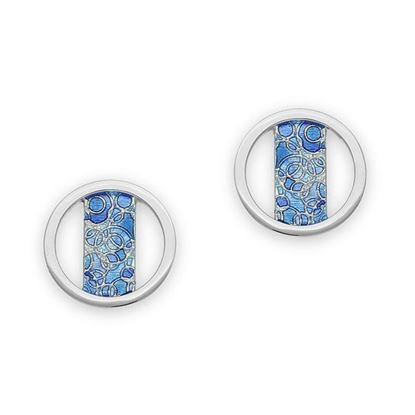 Ortak - EE521 Impressions Earrings (colour shown is Oasis)