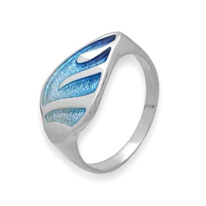 Ortak - ER126 Mirage Ring (colour shown is Waterfall)