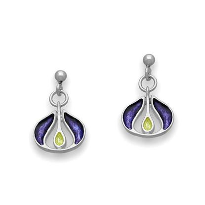 Ortak - EE517 New Dawn Earrings (colour shown in Purple Iris)
