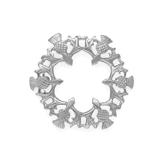 Ortak - B101 Thistle Brooch