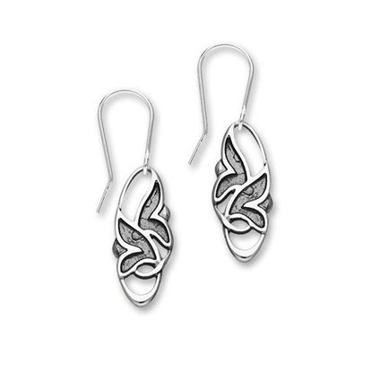 Ortak - E1807 Trendy Twirls Earrings