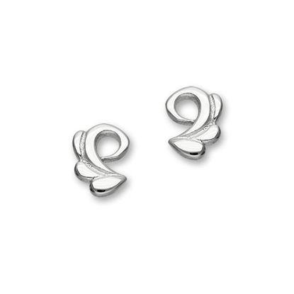 Ortak - E1090 Trendy Twirls Earrings
