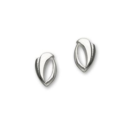 Ortak - E1093 Trendy Twirls Earrings
