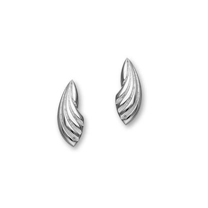 Ortak - E1095 Trendy Twirls Earrings
